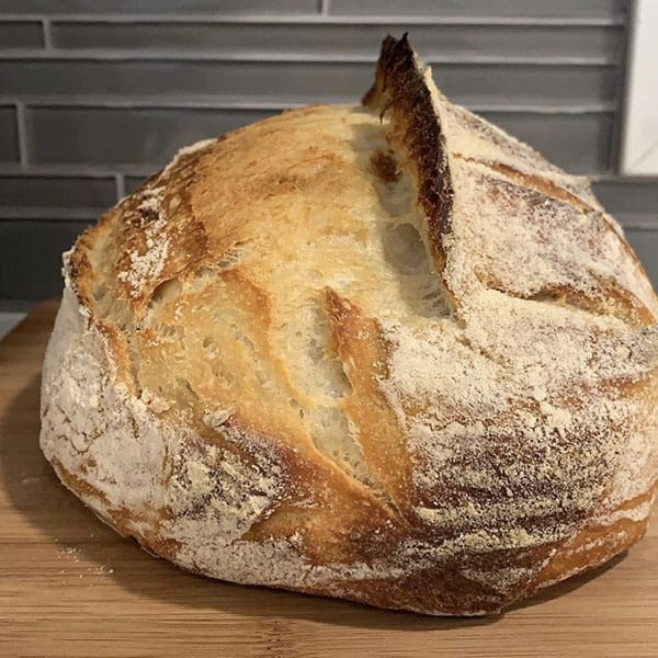 Sourdough Bread with Ear