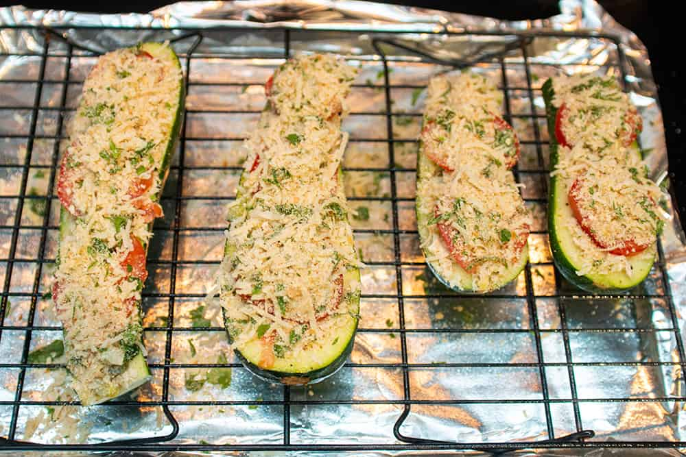 Zucchini Tuna Melts