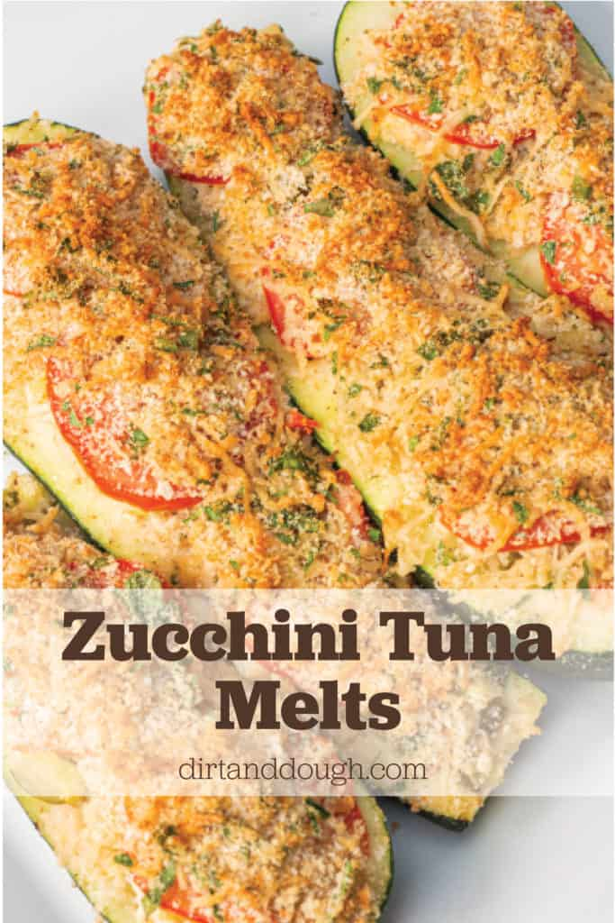 Zucchini Tuna Melt