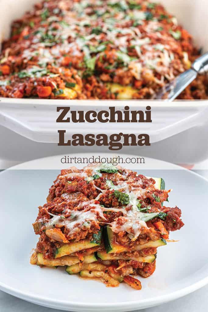 Zucchini Lasagna Pin Image